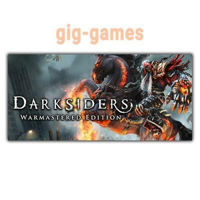 Darksiders Warmastered Edition PC spiel Steam Download Link DE/EU/USA Key Code