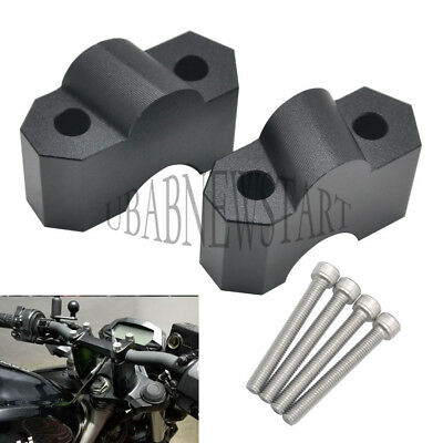 1 Set CNC HandleBar Risers Height up Adaptor for Kawasaki Z750 04-11 Z1000 07-09