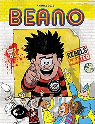Beano Annual 2019  Dennis & Gnasher Comic Stories Book Hardcover –  6 July 2018