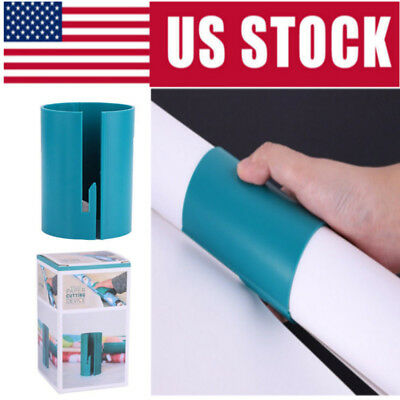 Little ELF Cutting Sliding Wrapping Paper Gift Roll Cutter Made Easy Use US