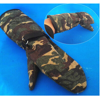 Pet Feed Gloves for Dog & Cat, Parrot Lizard Wild Animals Protective Glove