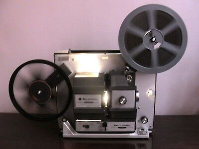 Bell & Howell 456 A Super 8 / Standard 8mm Movie Projector ~Serviced~