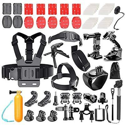 62-in-1 Camcorder Bundles Action Camera Accessory Kit For GoPro Hero 5 4 SJ4000