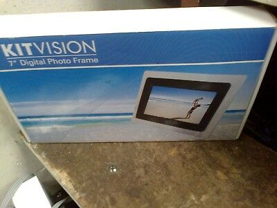 "Kitvision 7"" Digital Photo Frame - Boxed   - (R2)"