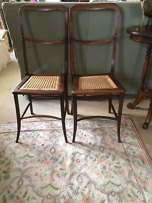 Very Rare Pair Of Regency Rosewood Correction Chairs