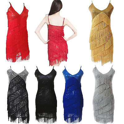 1920s Flapper Dress Great Gatsby Vintage 20's Roaring Evening Short Prom Dresses