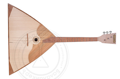 Russian student  academic Balalaika. Beech, maple, spruce, cherry