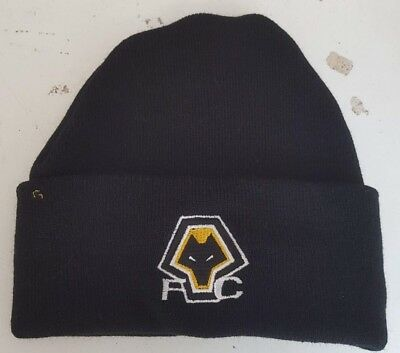 Wolverhampton Wanderers   wooly Hat Beanie Hat The Wolves