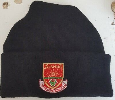 Arsenal  retro style wooly HAT Beanie hat The Gunners