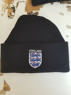 England  wooly Hat Beanie Hat