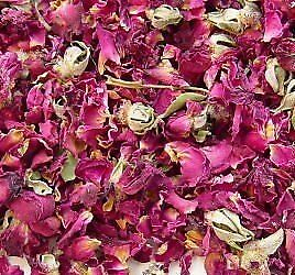 Rose Buds and Petals Red - 1 Pound