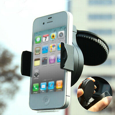 Rotatable Car Windscreen Suction Cup Phone Holder Mount Bracket Stand UK