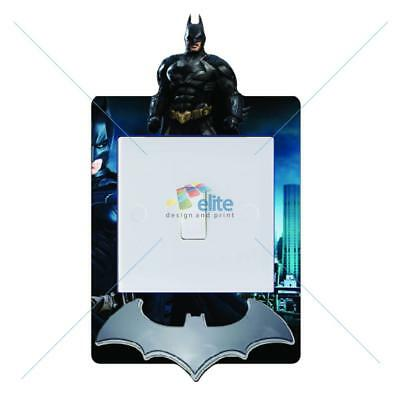 Lego Movie Batman Light Switch Vinyl Sticker Decal for Kids Bedroom #332