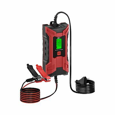 Multifunctional Car Battery Charger Automotive Quick Charge 8hrs 6/12V 120 Ah