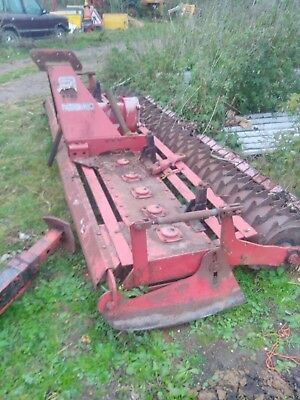 Rotomec 3m Metre Power Harrow Cultivator Good Working Order