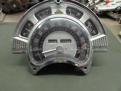 1952,53 Chrysler Gauge Cluster Rat Rod