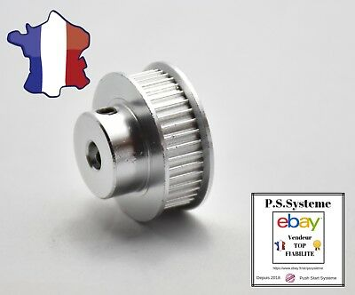 Poulie GT2 - 40 dents - axe 5 mm courroie 6mm - pour imprimante 3D Reprap pulley