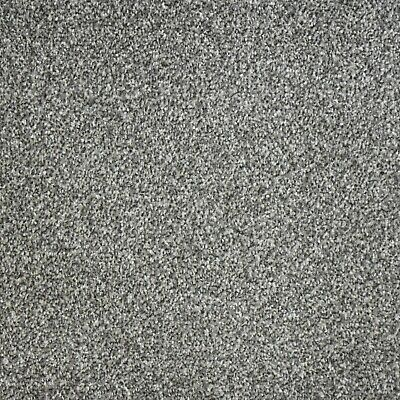 HARDWEARING 9mm Thick Grey Felt Back Twist Pile 5m Wide Carpet £6.99m²
