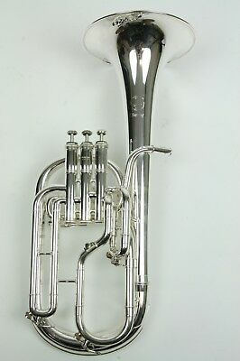 Tenorhorn Sterling JP372S near mint condition/serviced and well
