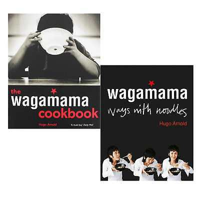 Hugo Arnold Wagamama Cookbook and Ways With Noodles 2 Books collection set