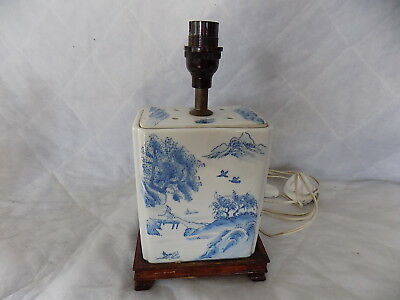 MID 20th CENTURY CHINESE IMPORT LAMP