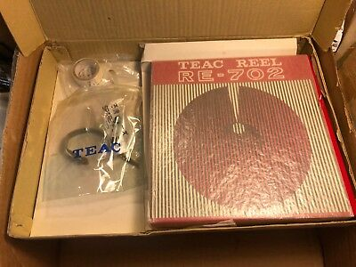 Rare Vintage Teac A-4010S Reel-to-Reel ACCESSORY KIT mostly empty