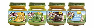 NEW Earth's Best Organic Stage 2 Baby Food, Dinner Variety 12 Pack, 2019