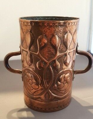 Copper Arts & Crafts Twin Handled Vessel - Exceptional Quality