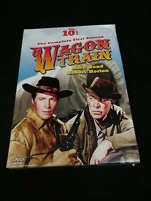 Wagon Train: The Complete First Season (DVD, 2010, 10-Disc Set)
