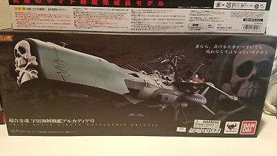 NEW UNOPENED Soul of Chogokin GX-67 Space Pirate Battle Ship Arcadia
