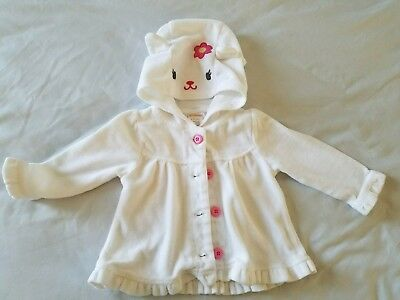 Baby Girl 6-12 Months Gymboree Sweater Winter White Fall long sleeves