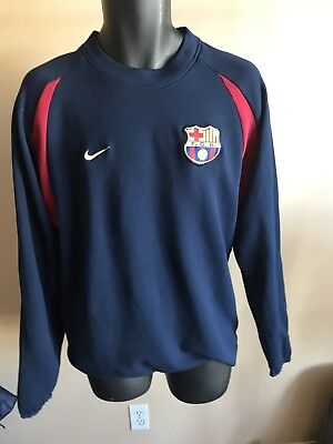 104c27fe9 Nike FCB Barcelona Spain Long Sleeve Soccer Jersey Athletic Team Men s XXL