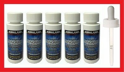 Kirkland Minoxidil 5% Extra Strength Men Hair Regrowth Solution 5 Months Supply