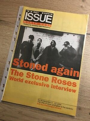 Rare Stone Roses Big Issue From 1994