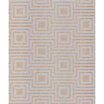 Arthouse Modena Rose Gold Square Geoemtric Metallic Luxury Wallpaper 901807