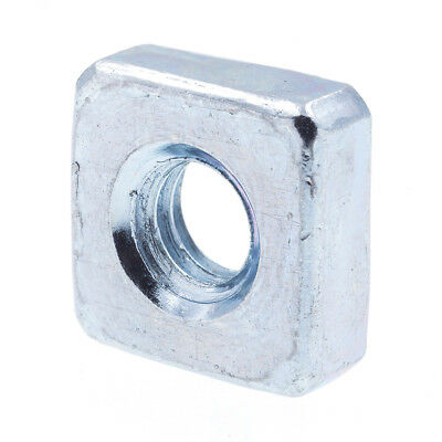 Square Nuts, #8-32, Zinc Plated., 10 pack