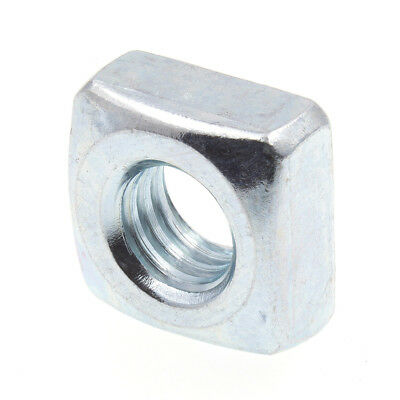 "Square Nuts, 5/16""-18, Zinc Plated., 25 pack"