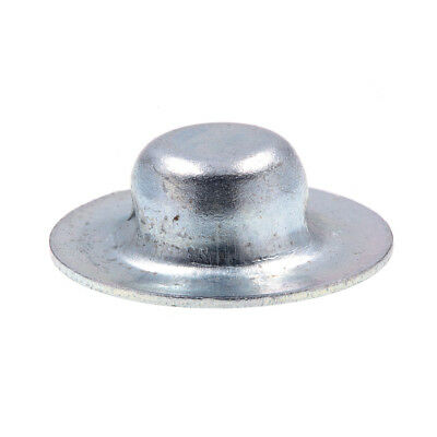 "Axle Hat Push Nuts, 1/4"", Zinc Plated., 100 pack"