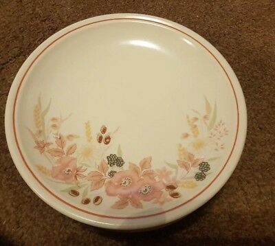 BOOTS HEDGE ROSE SIDE PLATE 19cm