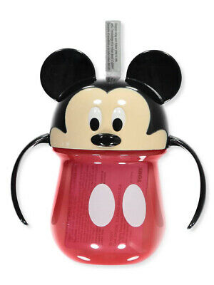Mickey Mouse Straw Sipper Cup with Handles