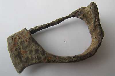 Ancient Roman iron Legionary Crossbow Fibula/Broch F