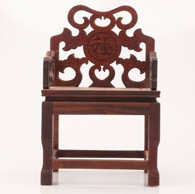 High Class Wood Statue Chair Bracket Base Old Hand Carved Figure Collection