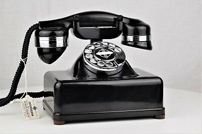 Vintage Telephone - Automatic Electric Number 2 Chrome Trim - Fully Refurbished
