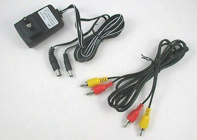 Nintendo NES Power Supply and AV Cable Hookups Bundle for System Cord Lot