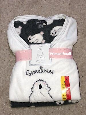 2fc822ff88b8 LADIES FLEECE PYJAMAS POODLE DOG Winter PJ Sets Womens Girls 6 to 24 ...