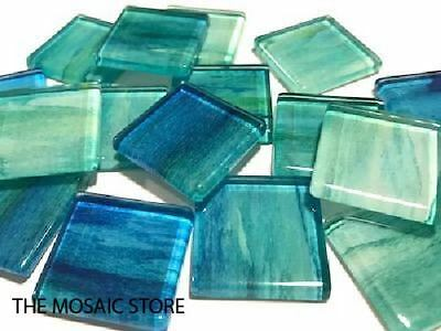 Watercolour Glass Mosaic Tiles 2.5cm No. 1 - Mosaic Art Supplies Craft