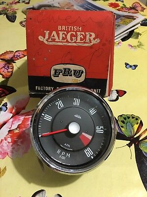 Nos Smiths Jaeger Rev Counter RVI 2404/00B Sunbeam Alpine MkIV Rootes Group