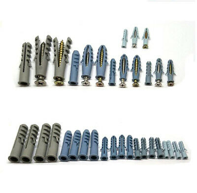 4/5/6/8/10/12/14mm Dia Rawlplug Expansion Screws For Brick, Concrete Mounting