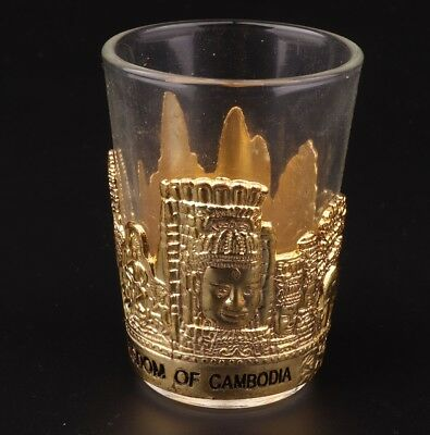 Rare Gilt Glass Goblets King Egypt Collects Decorated Christmas Gifts