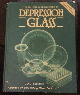 Vintage Depression Glass Collector's Encyclopedia Revises 7th Ed. Book; Florence